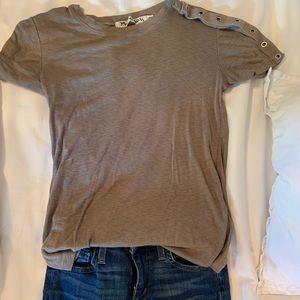 Michael stars cotton t shirt olive greenish